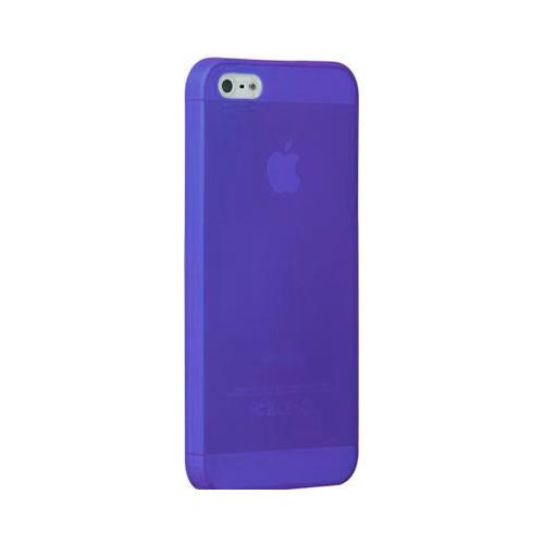 Накладка силиконовая Ultra slim iPhone 5/5S Glossy Blue