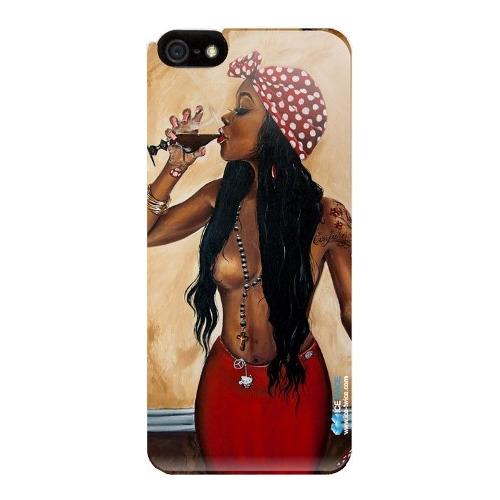 Накладка силиконовая IceTwice iPhone 6/6S Swag Girl №897