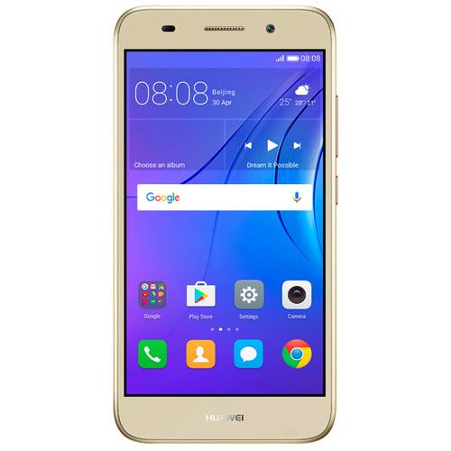Телефон Huawei Y3 2017 Gold фото