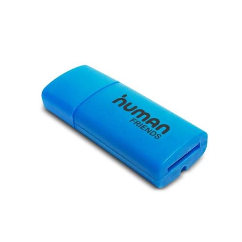 USB картридер Human Friends Speed Rate Ribbon Blue microSD USB 2.0