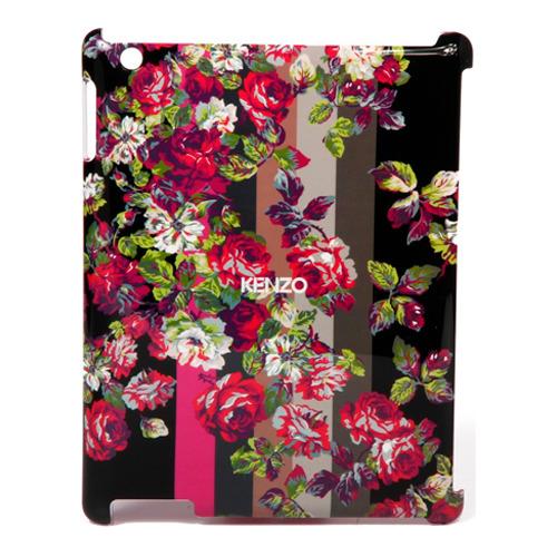 Накладка пластиковая Kenzo iPad 2/3/4 Kila + защитная плёнка черная