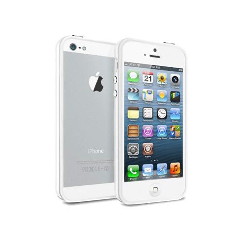 Бампер Deppa Slim для iPhone 5/5S/SE White