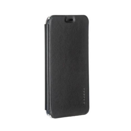 Чехол-книжка Gresso Абсолют PC Samsung Galaxy J4 (2018) Black фото