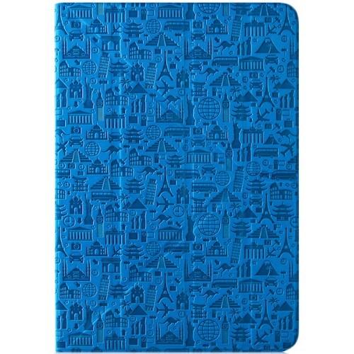 """Чехол-книжка Canyon универсальный 7"""" Life is (двусторонний) Blue"""