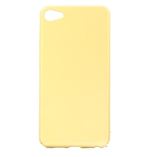 Накладка пластиковая Goodcase Meizu U10 Gold
