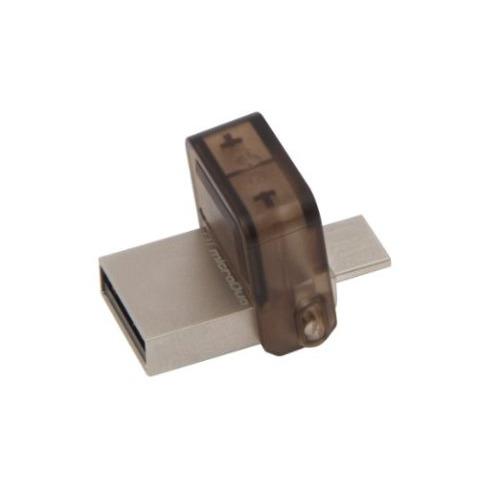 USB накопитель Kingston Data Traveler Duo OTG micro USB + USB 2.0 8Gb