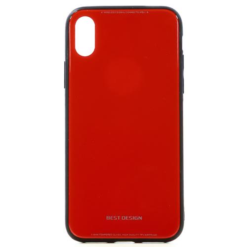 Накладка пластиковая TFN iPhone X/iPhone XS Red фото
