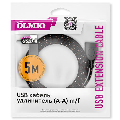 Удлинитель Olmio USB 5.0м фото