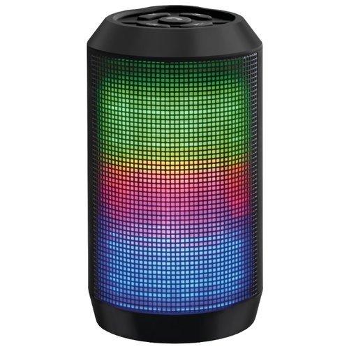 Колонка Ginzzu Bluetooth GM-999С 3W/USB/TF/AUX/FM/цветомузыка