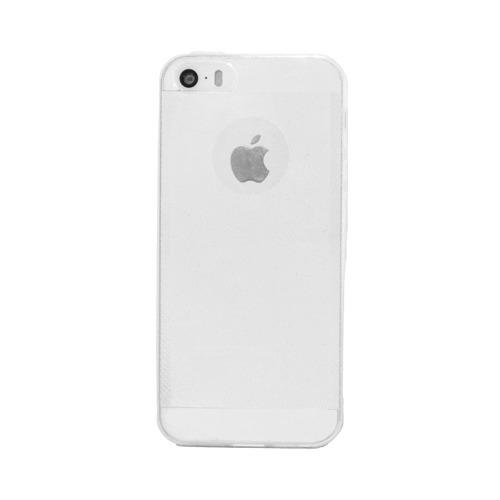 Накладка силиконовая Protective Cover iPhone 5/5S White