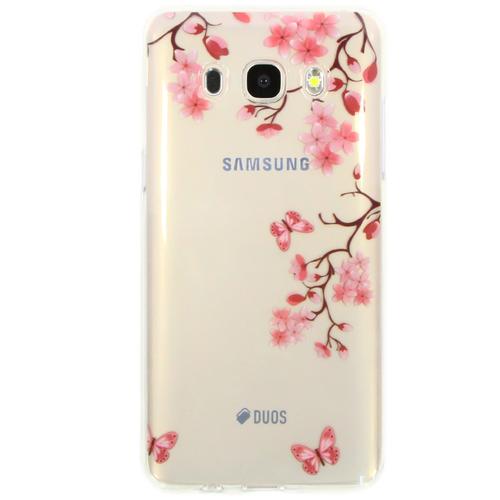 Накладка силиконовая Goodcase Samsung J5 (2016) Сакура
