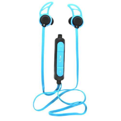 Bluetooth стереогарнитура Ritmix RH-400BTH Blue фото 2