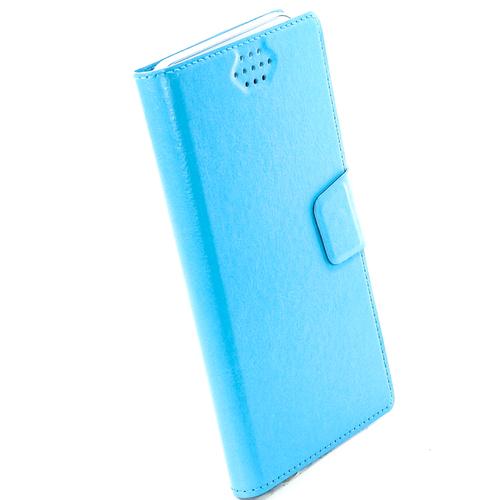 """Чехол-книжка Code универсальный M (4.3""""-5.5"""") Blue фото 5"""