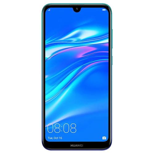 Телефон Huawei Y7 2019 Aurora Blue фото