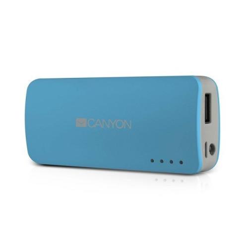 Внешний аккумулятор Canyon CNE-CPB44 4400 mAh Blue
