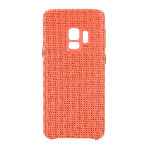 Накладка пластиковая Samsung Hyperknit Cover для Galaxy S9 (EF-GG960FREGRU) Red