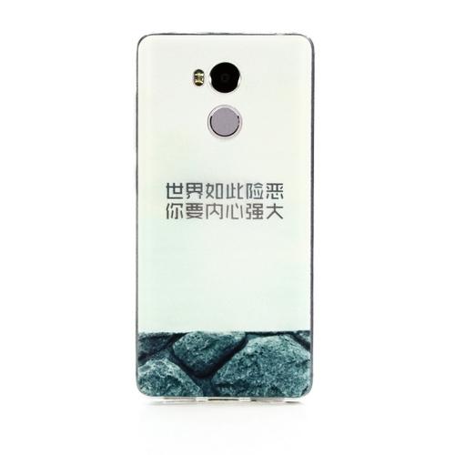 Накладка силиконовая Goodcase Xiaomi Redmi 4 Pro Камни