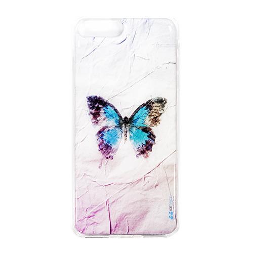 Накладка силиконовая IceTwice iPhone 7 Plus Бабочка №1037