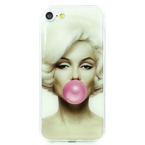 Накладка силиконовая IceTwice iPhone 7/8 Marilyn Bubble Gum №894