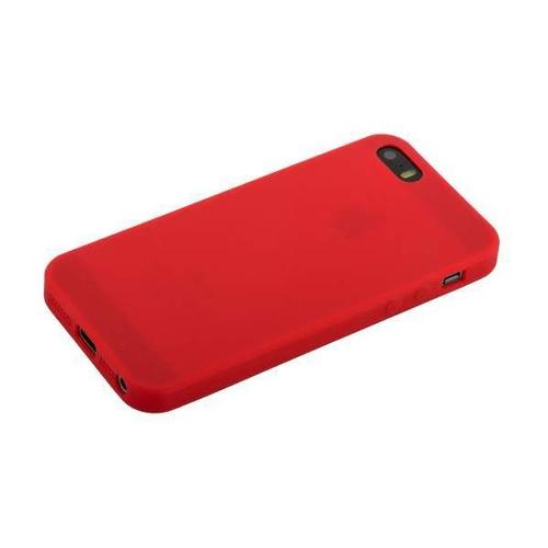 Накладка силиконовая Anycase iPhone 5/5S Matt Red фото