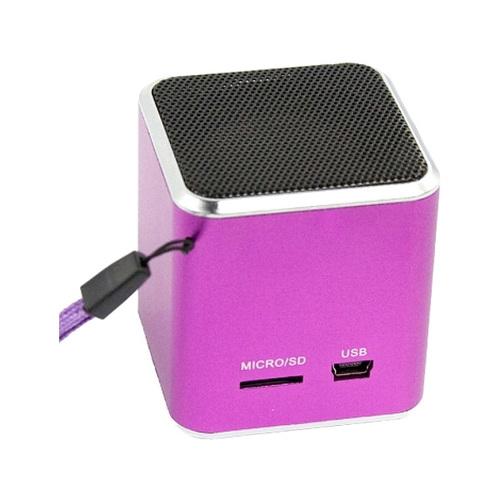 Колонка LP Bluetooth M1 mSD FM Pink