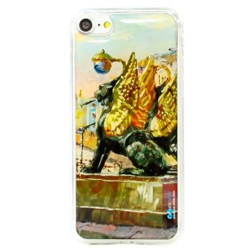 Накладка силиконовая IceTwice iPhone 7 Банковский Мост №923