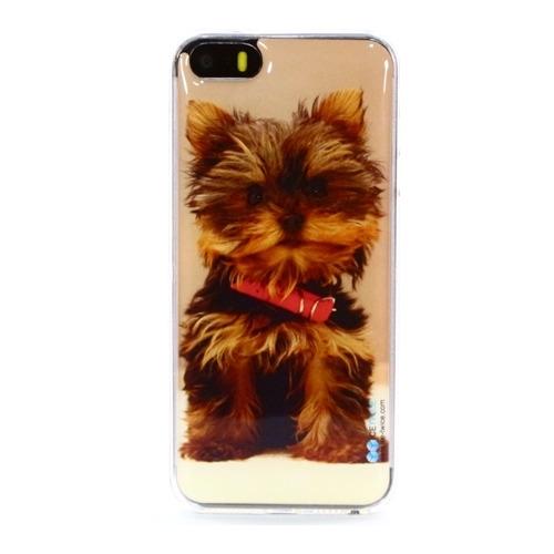 Накладка силиконовая IceTwice iPhone 5/5S/SE Терьер №624