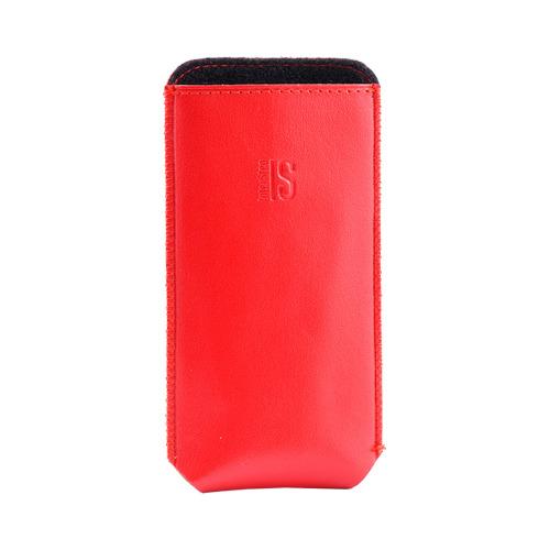 Сумочка POCKET р56 кожаная красная
