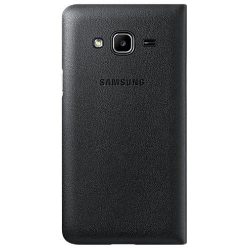 Чехол - книжка Samsung Flip Wallet Galaxy J3 (2016) (EF-WJ120PBEGRU) Black фото 3
