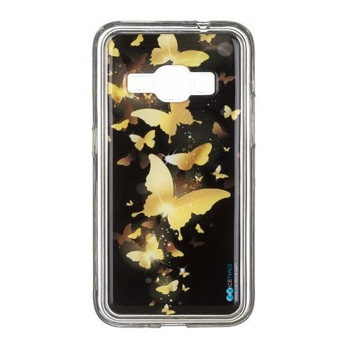 Накладка силиконовая IceTwice Samsung Galaxy J1 (2016) Бабочки №969