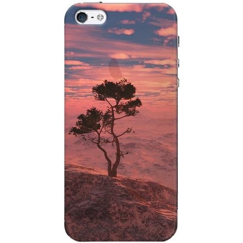Накладка пластиковая Deppa Art Case iPhone 5/5S/SE Nature Дерево