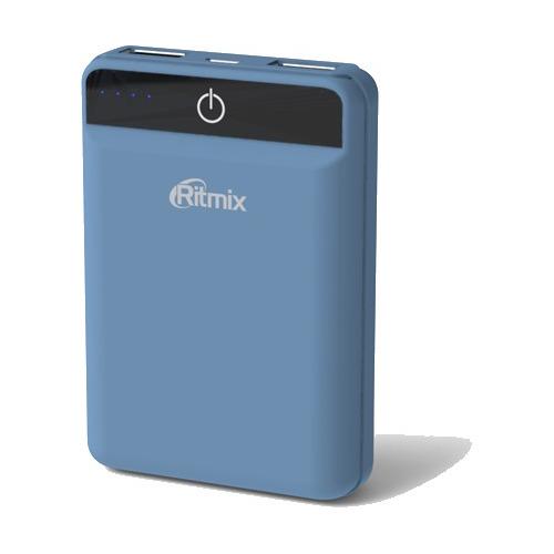 Внешний аккумулятор RITMIX RPB-10003L 10000 mAh Smoky blue