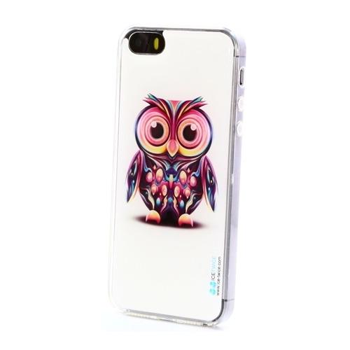 Накладка силиконовая IceTwice iPhone 5/5S/SE Сова №730