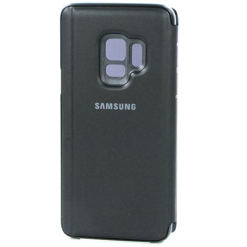 Чехол-книжка Samsung Clear View Standing Cover Galaxy S9 (EF-ZG960CBEGRU) Black