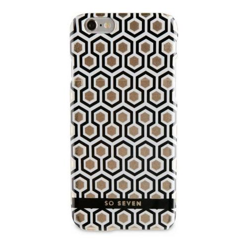 Накладка пластиковая So Seven iPhone 7 / iPhone 8 Midnight Hexagnale