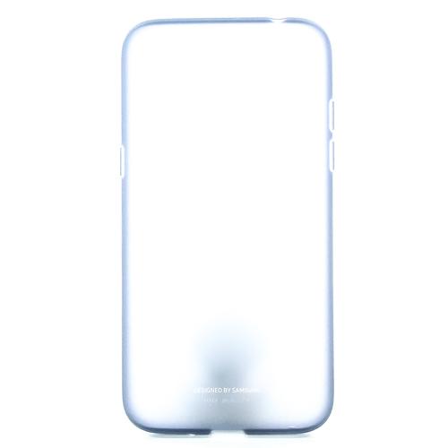 Накладка силиконовая на Samsung Silicone Cover для Galaxy S9 (EF-PG960TLEGRU) Blue