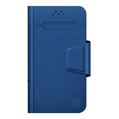 Чехол - книжка Deppa Wallet Fold (6'-7') для эл.устройств Blue фото