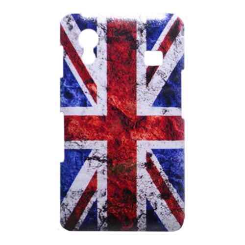 Накладка пластиковая QRCase Samsung S5830 Британский флаг N172W