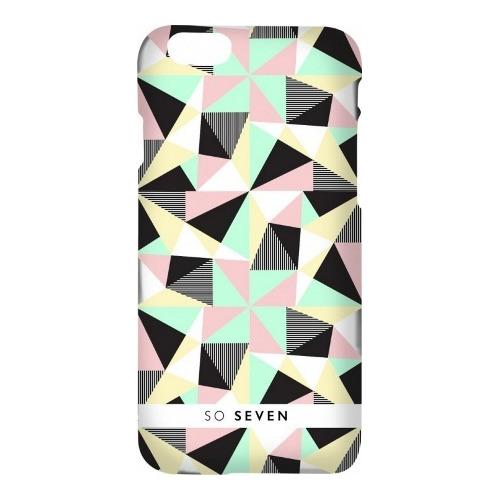 Накладка пластиковая So Seven iPhone 7 / iPhone 8 Grpahic Pastel Transparent