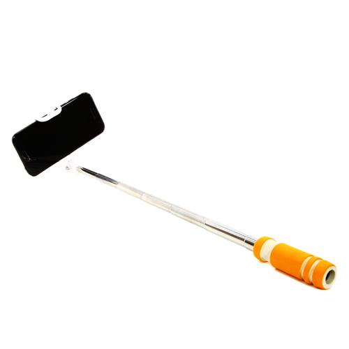 Монопод для селфи Goodcom MINI (со шнурком 3.5mm) Orange