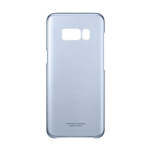 Накладка пластиковая Samsung Clear Galaxy S8 (EF-QG950CFEGRU) Blue