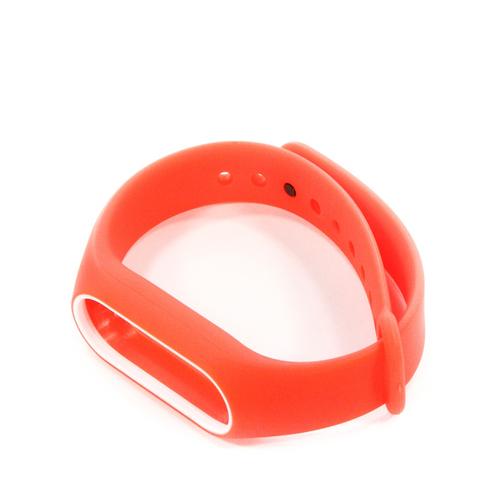 Ремешок Goodcom для фитнес-браслета Xiaomi Mi Band 2 Red-White