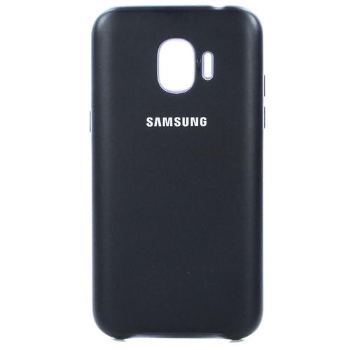 Накладка пластиковая Dual Layer Cover для Samsung Galaxy J2 (2018) Black