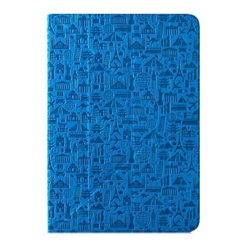 """Чехол - книжка Canyon универсальный 10"""" Life is (двусторонний) Blue"""