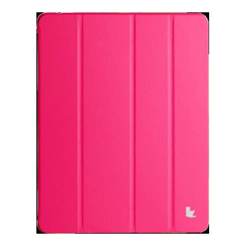 Чехол-флип Jisoncase iPad Air малиновый