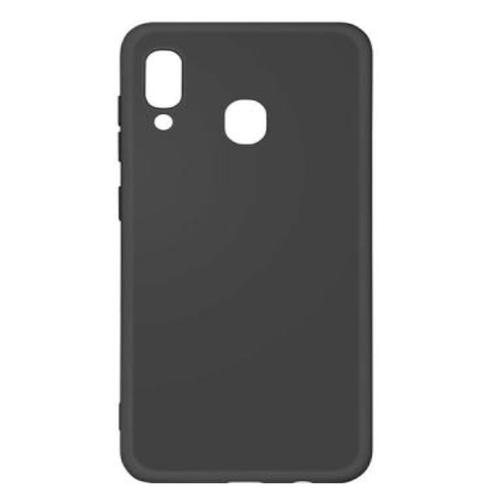 Накладка силиконовая Deppa Gel Color Case Samsung Galaxy A30/A20 Black фото