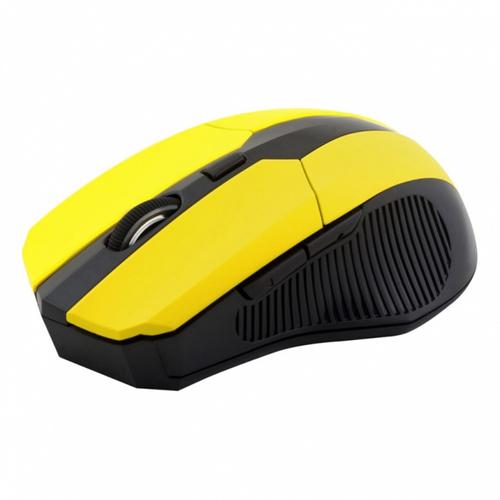 Мышь CBR CM 547 USB Yellow беспроводная