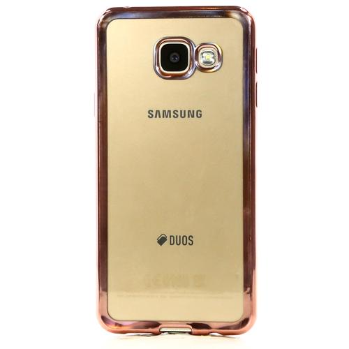 Накладка силиконовая DF Samsung Galaxy A3 (2016) Rose Gold