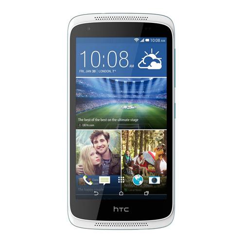 Телефон HTC Desire 526G Dual Sim Terra White/Glacier Blue фото