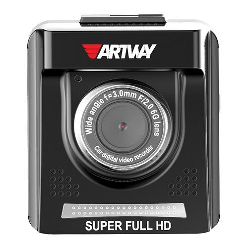 Видеорегистратор Artway AV-710 GPS с Радар-детектором SpeedCam Black